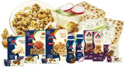 Mehr Atkins Produkte
