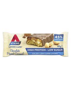 Proteinriegel Chocolate Peanut Caramel 60g von Atkins