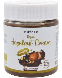 Vegane Haselnuss-Creme ohne Zuckerzusatz 250g von Nutri-Plus