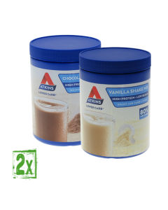 Atkins AdvantageShakeMix 370g Group