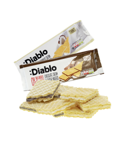Diablo CremeWaffelnThins 160g Group