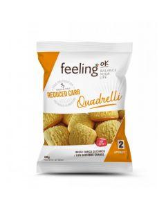 Protein Bisquit Quadrelli Optimize (30% Protein) 50g Beutel von Feeling OK