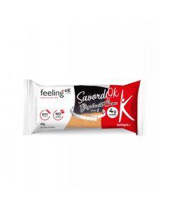Protein Bisquit SavordOk mit Schokoladenglasur Start 1 (32% Protein) 35g von Feeling OK