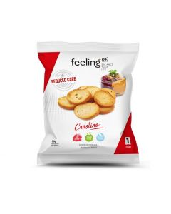 Protein Brotchips Crostino Start 1 (45% Protein) 50g Beutel von Feeling OK