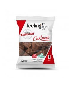 Protein Cantucci Brotchips Start 1 (30% Protein) 50g Beutel von Feeling OK