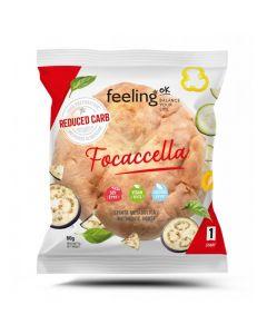 Protein Focaccella Fladen Start 1 (22% Protein) 80g von Feeling OK