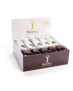 Schokoladenriegel ohne Zuckerzusatz 20 x 35g Mix-Pack von Balance