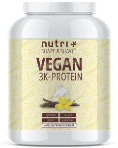 Veganes 3K Proteinpulver 1000g Dose von Nutri-Plus