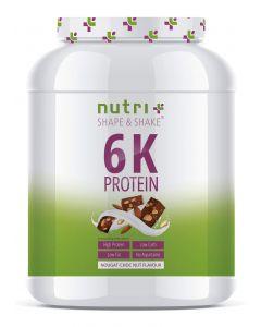 Veganes 6K Proteinpulver 1000g Dose von Nutri-Plus