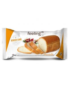Weissbrot Optimize 2 (Reduced Carb) 300g von Feeling OK