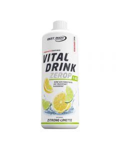 Zuckerfreier Vital Drink 1000ml für 80 Liter Fertiggetränk von Best Body Nutrition
