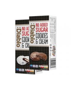 Gefuellte Cookies ohne Zuckerzusatz 128g von Diablo