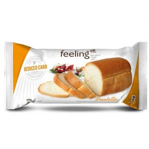 Weißbrot Optimize 2 (Reduced Carb) 300g von Feeling OK