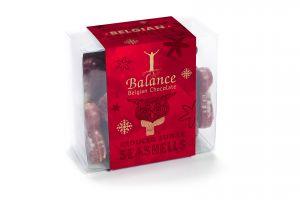 Belgian Seashells ohne Zuckerzusatz Weihnachtsedition 2020 170g von Balance