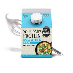Liquid Eggwhite flüssiges Eiklar 300ml Natur von Your Daily Protein