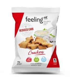 Protein Crackers Start 1 (40% Protein) 50g Beutel von Feeling OK